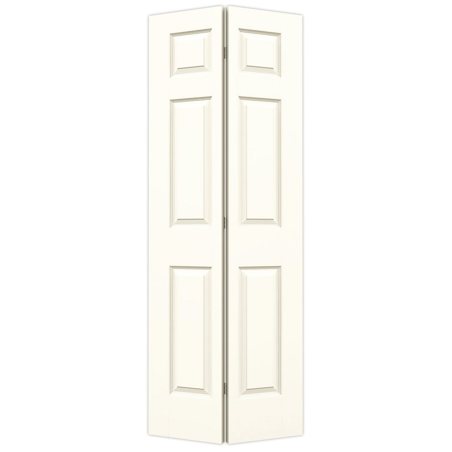 JELD WEN Colonist White 6 Panel Molded Composite Bifold