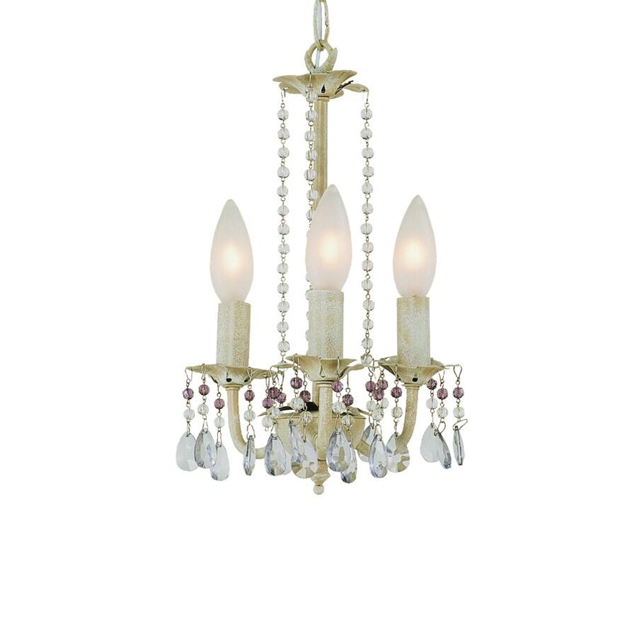 light antique white crystal chandelier