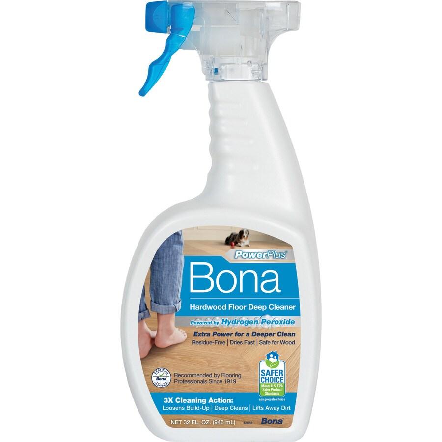Bona PowerPlus 32fl oz Hardwood Floor Cleaner at Lowescom