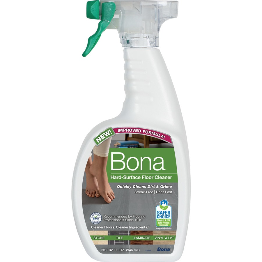 bona 32 fl oz pump spray liquid floor cleaner