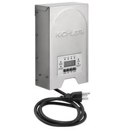 kichler 200 watt 120 volt multi tap landscape lighting transformer with with digital [ 900 x 900 Pixel ]