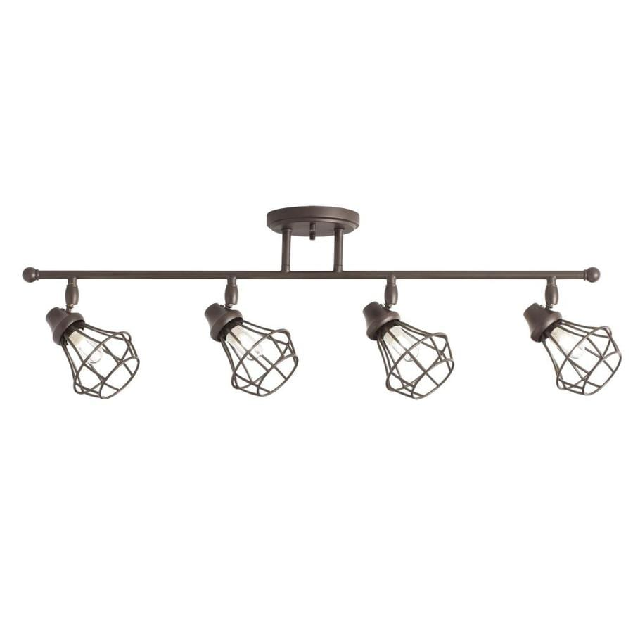 Shop Kichler Bayley 4-Light 32.25-in Olde Bronze Dimmable
