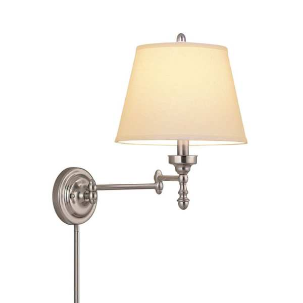 Allen Roth Wall Mounted Swing Arm Lamp