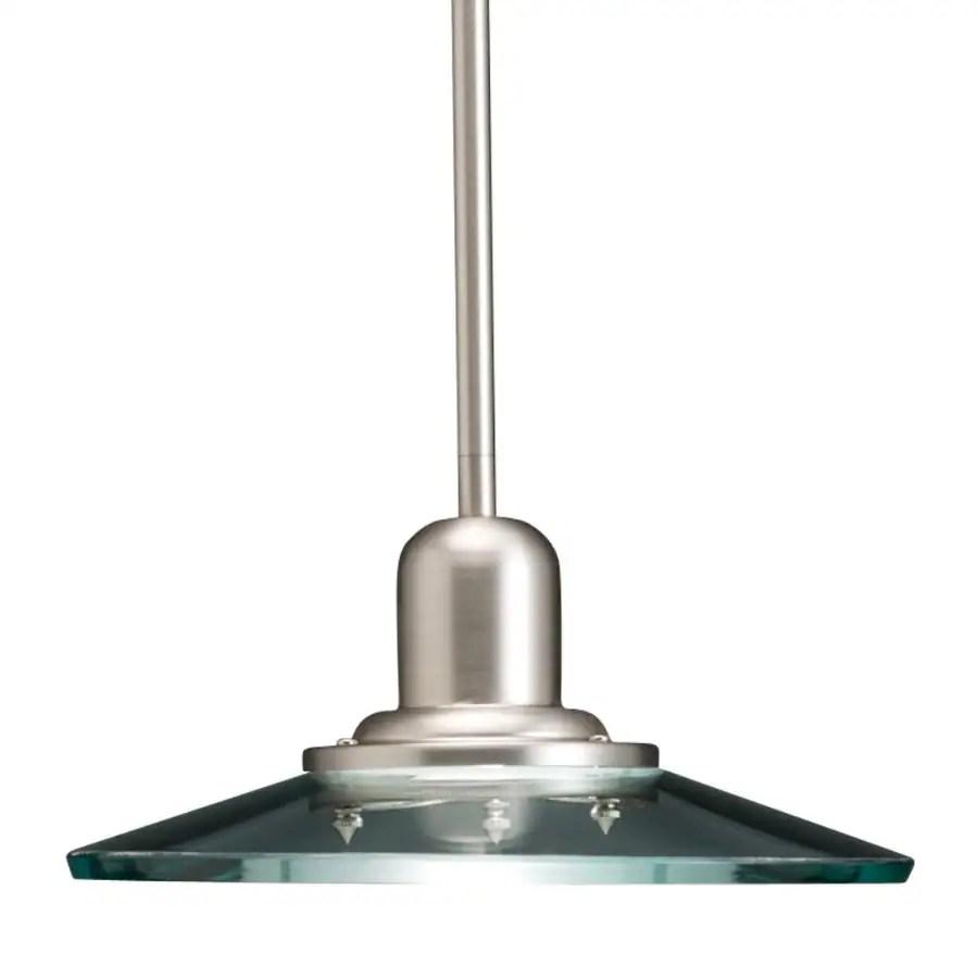 Brushed Nickel Mini Pendant Lights