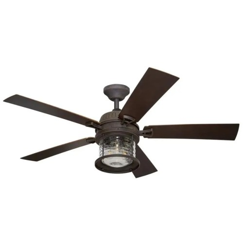 small resolution of allen roth stonecroft 52 in antique bronze led indoor outdoor ceiling fan with light kit and remote 5 blade