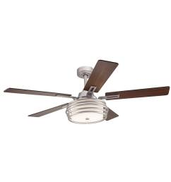 kichler bands 52 in brushed nickel indoor ceiling fan with light kit rh lowes com hampton bay ceiling fan wiring diagram ceiling fan wiring diagram 2  [ 900 x 900 Pixel ]