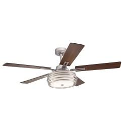 kichler bands 52 in indoor downrod ceiling fan with light kit and kichler ceiling fan wiring diagram [ 900 x 900 Pixel ]