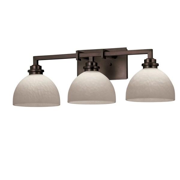 Portfolio 3-light Light Oil-rubbed Bronze Bathroom Vanity