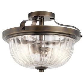 semi flush mount lights