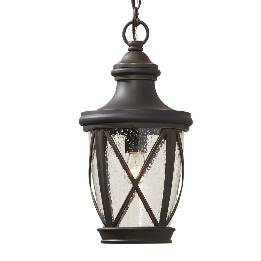 Shop allen + roth Castine Rubbed Bronze Vintage Seeded