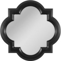 Shop allen + roth Black Wall Mirror at Lowes.com