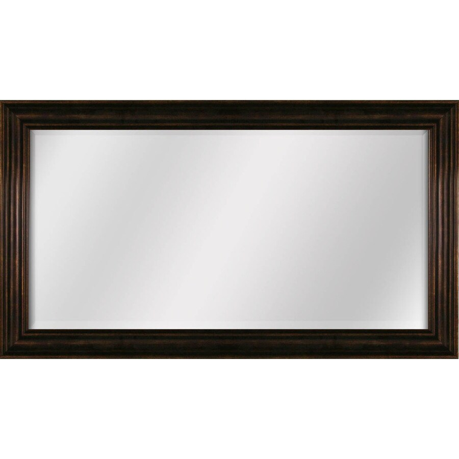 Style Selections 245in L x 445in W Bronze Beveled Wall Mirror at Lowescom