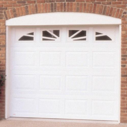 small resolution of wayne dalton 8 x 7 white insulated williamsburg windows garage door
