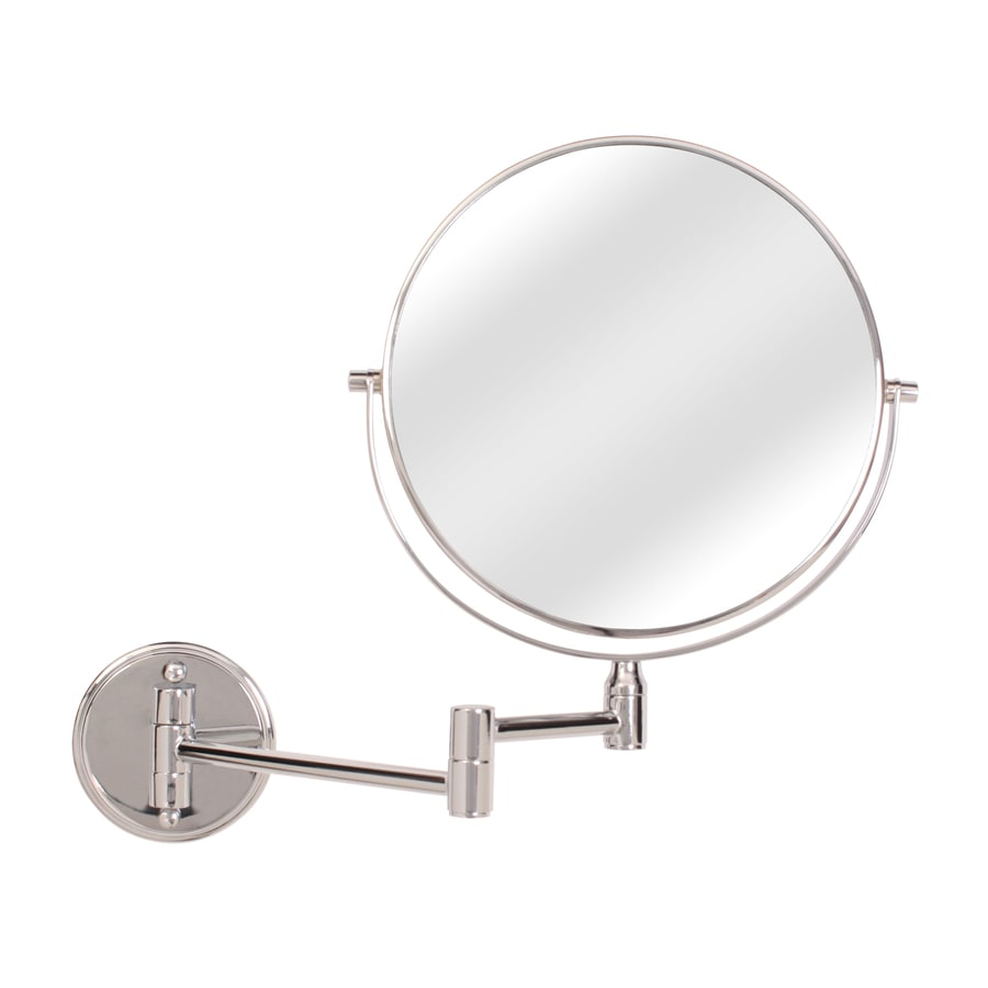 Shop Giagni Chrome Zinc Magnifying Wall