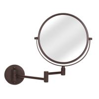 Wall Mounted Makeup Mirror Bronze | Saubhaya Makeup