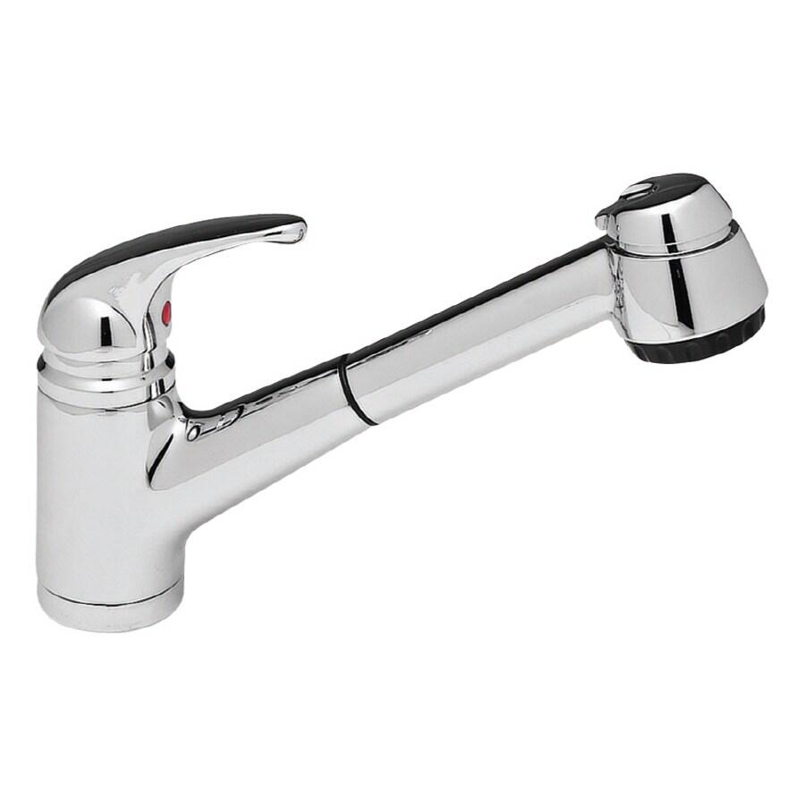 blanco elan ii chrome 1 handle pull out