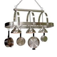 Shop Cale 16.25-in W 3-Light Brushed Nickel Lighted Pot ...
