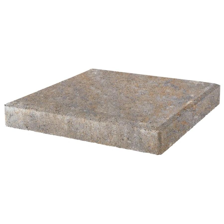 pavestone 12x12 square 12 in l x 12 in w x 2 in h patio stone