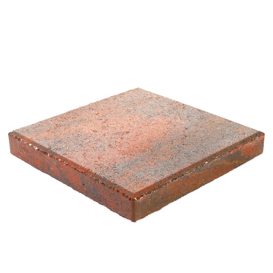 pavestone 12x12 square 12 in l x 12 in w x 2 in h concrete patio stone