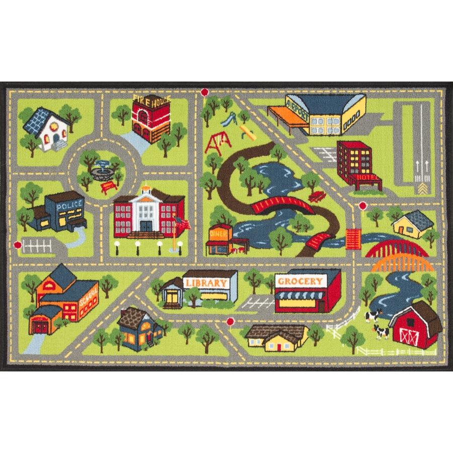 town rug  Home Decor