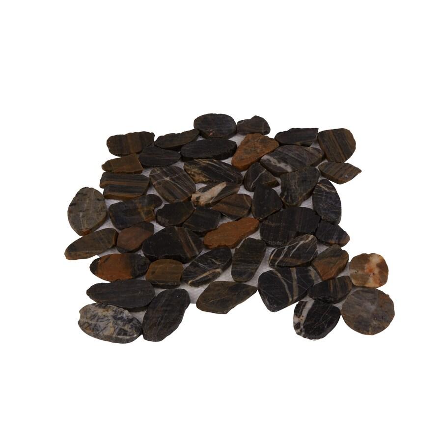 shower floors pebble tile at lowes com