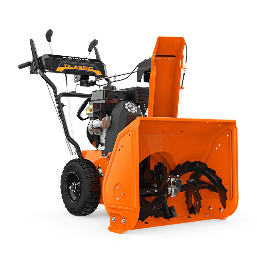 medium resolution of ariens classic 24 24 in two stage gas snow blower self propelled