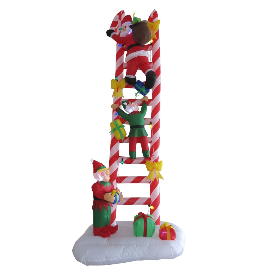 Blow Up Outdoor Christmas Decoration