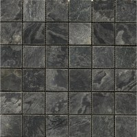Shop Emser 12-in x 12-in Silver Gray Natural Slate Floor ...
