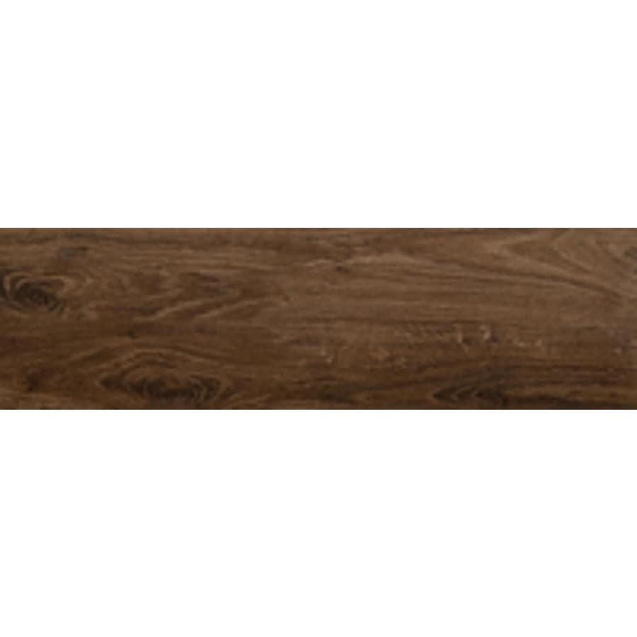 emser grove 10 pack manor 6 in x 24 in glazed ceramic wood look floor and wall tile