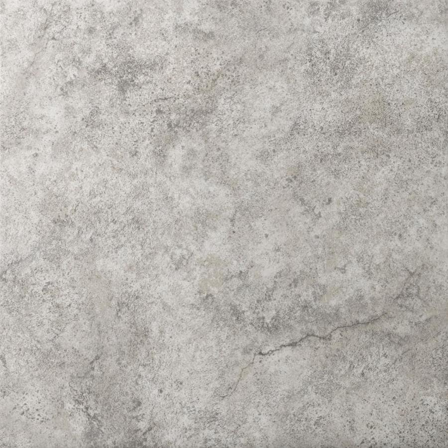 emser toledo 14 pack silver 13 in x 13 in matte ceramic stone look floor and wall tile