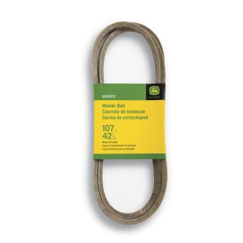 small resolution of john deere 42 in deck drive belt for riding mower tractors