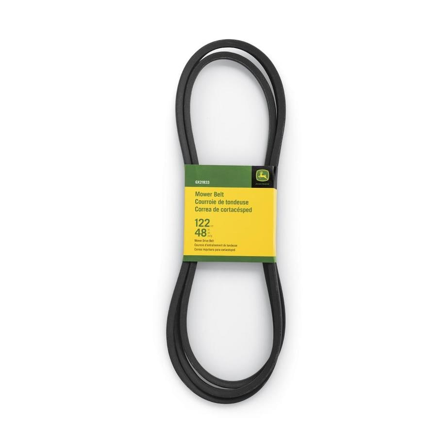hight resolution of john deere 48 in deck drive belt for riding mower tractors