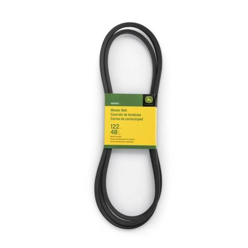 small resolution of john deere 48 in deck drive belt for riding mower tractors