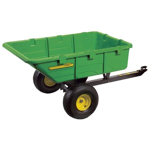 John Deere Deluxe Poly Dump Cart