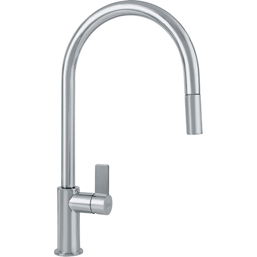 franke kitchen faucet aid mixer cover ambient satin nickel 1 handle pull down at