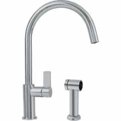 Franke Kitchen Faucet Mason Jar Lights Faucets At Lowes Com Ambient Satin Nickel 1 Handle Deck Mount High Arc