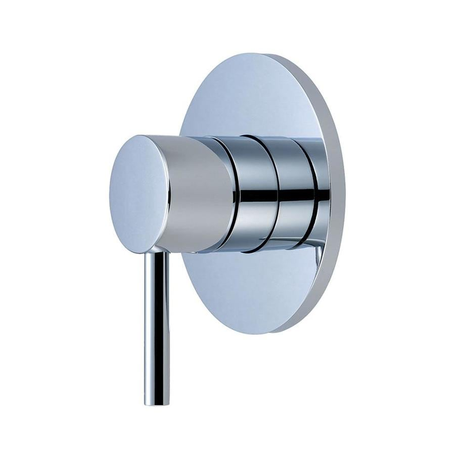 pioneer industries polished chrome lever shower handle