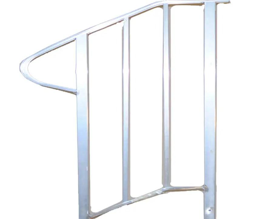 Handrail Exterior Handrails At Lowes Com | Handrails For Concrete Steps Lowes | Vinyl | Double Wide | Portable | Century Concrete | Interior