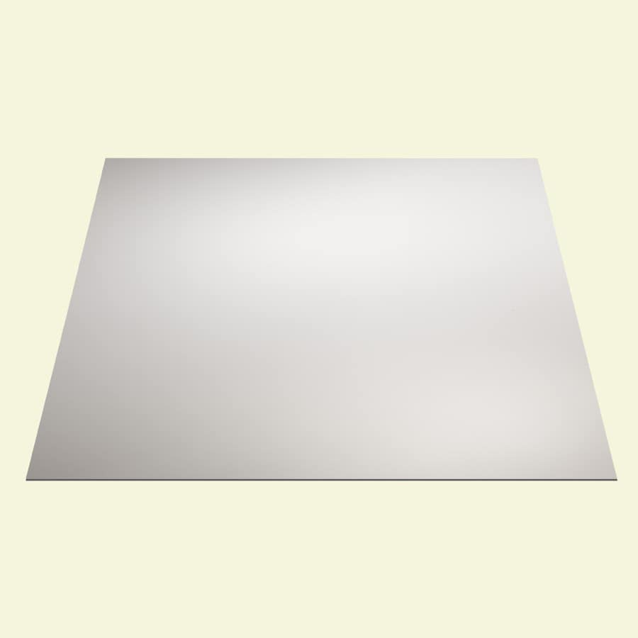 genesis 24 in x 24 in smooth pro white smooth 15 16 in drop ceiling tiles lowes com