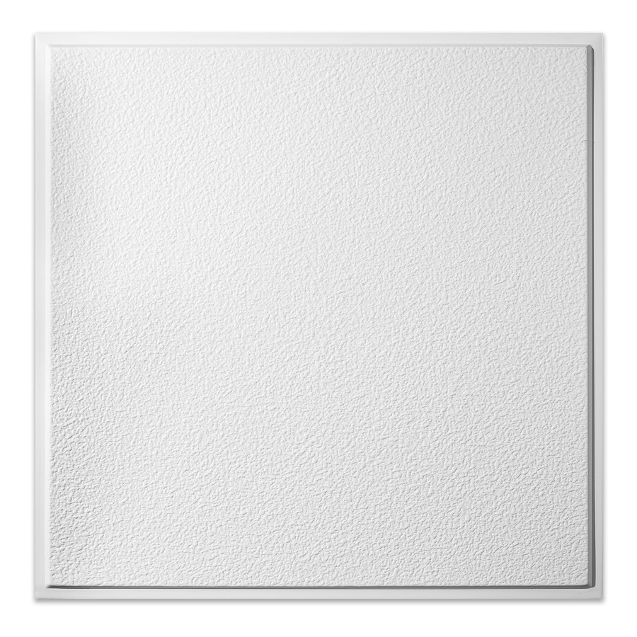 genesis 24 in x 24 in stucco pro revealed edge white textured 15 16 in drop ceiling tiles