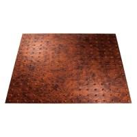 Shop Fasade Moonstone Copper Faux Tin 15/16-in Drop ...