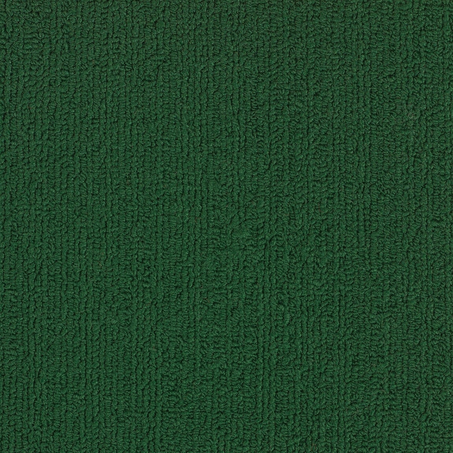 Shaw Accentuate BL Dark Green BerberLoop Interior Carpet
