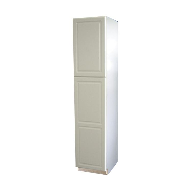 Diamond Now Concord 18 In W X 84 In H X 23 75 In D White Door Pantry Stock Cabinet In The Stock Kitchen Cabinets Department At Lowes Com