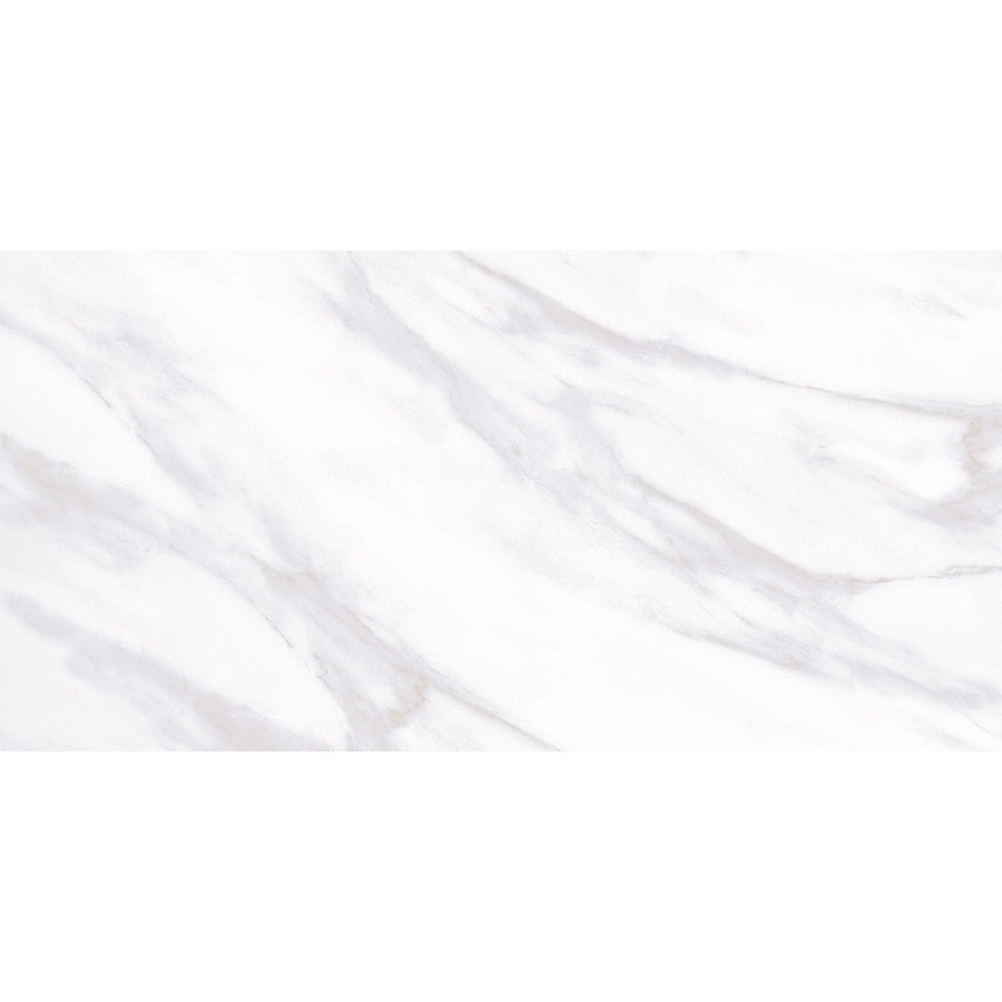 glazed ceramic marble look floor tile
