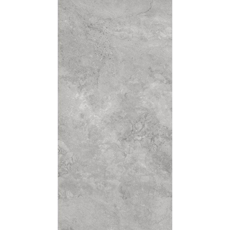 https www lowes com pd city gray 12 in x 24 in glazed porcelain stone look floor tile 1001029086