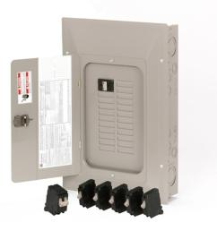 eaton type ch 44 circuit 100 amp main breaker load center value pack  [ 900 x 900 Pixel ]