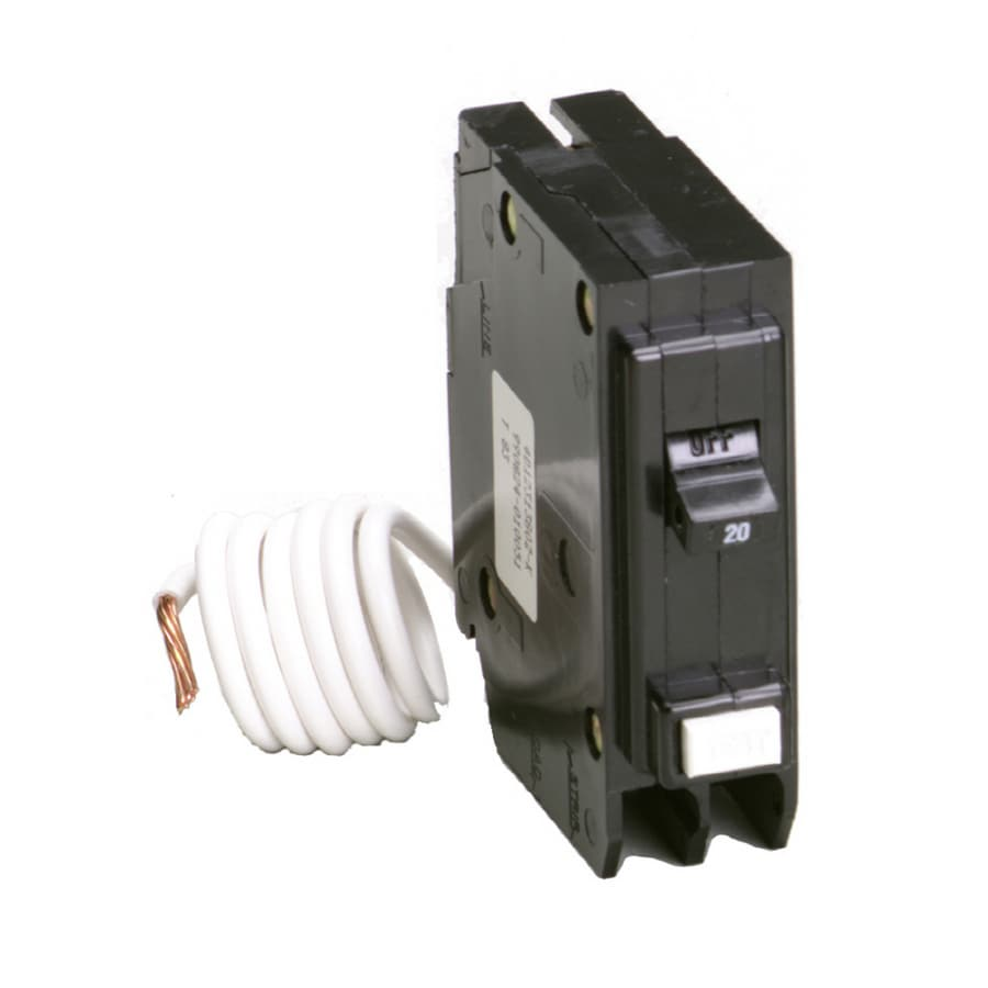 medium resolution of eaton type br 20 amp 1 pole ground fault circuit breaker