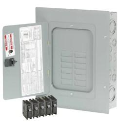 eaton type br 24 circuit 12 space 125 amp main lug load center [ 900 x 900 Pixel ]