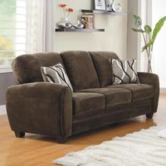 Sofa Beds Reading Berkshire Sleeper With Air Mattress Couches Sofas Loveseats At Lowes Com Homelegance Rubin Casual Chocolate Microfiber