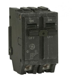 ge q line thql 30 amp 2 pole standard trip circuit breaker at lowes comge q [ 900 x 900 Pixel ]